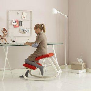kneeling posture chair varier children