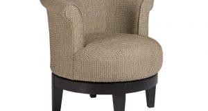 leather barrel chair e