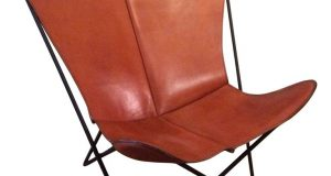 leather butterfly chair l