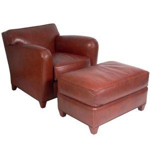 leather chair and ottoman donghiachairandottoman