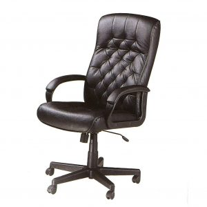 leather computer chair comfortable black leather office computer chair