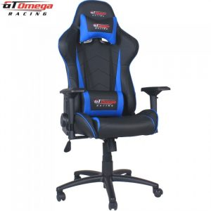 leather gaming chair gt omega pro racing office chair black next blue leather a x