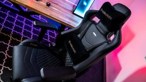 leather gaming chair noble chairs epic leather gaming chair