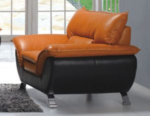 leather livingroom chair esf chair