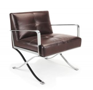 leather lounge chair ec