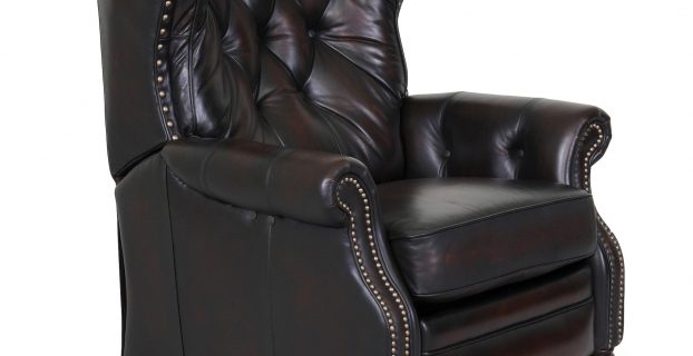 leather recliner chair barcalounger kendall ii power recliner chair