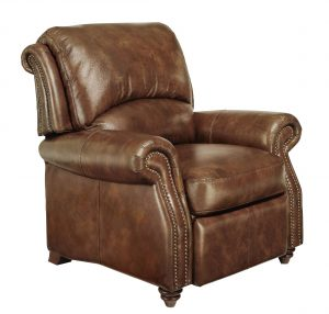 leather recliner chair full view exp