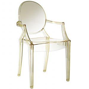 louis ghost chair eei ylw