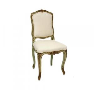 louis xiv chair painted french chair baroque chair raymond goins