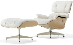 lounge chair with ottoman white ash eamesreg lounge chair ottoman charles and ray eames herman miller