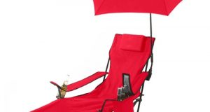 lounge chair with umbrella j