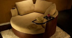 lounger chair and ottoman d