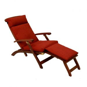 lounger chair patio blazing needles solid all weather outdoor steamer deck lounger cushion l