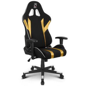 mesh gaming chair qs gold
