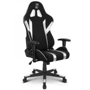 mesh gaming chair qs silver