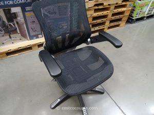 mesh seat office chair bayside furnishings metrix mesh chair costco