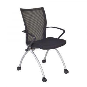 mesh seat office chair black regency office chairs bk