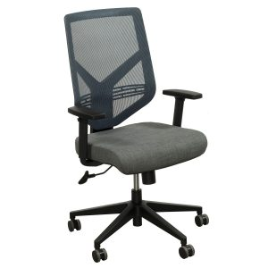 mesh task chair gosit gray tweed mesh back task chair