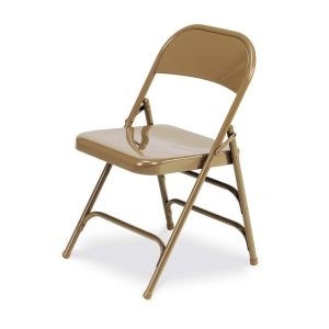metal folding chair virco folding chairs in golden metal