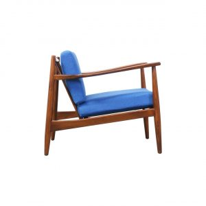 mid century lounge chair l