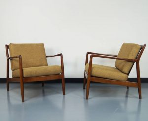 mid century lounge chair mid century lounge chairs by folke ohlsson danish modern noho l