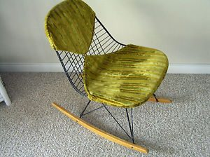 mid century modern rocking chair $