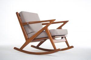 mid century modern rocking chair kennedy mid century modern rocking chair