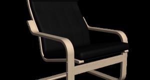 modern chair and ottoman ikea poaeng chair sofa lounging d xxl