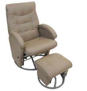 modern gliding chair babyhood diva glider latte