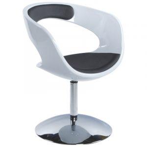 modern swivel chair white and black modern swivel chair zur