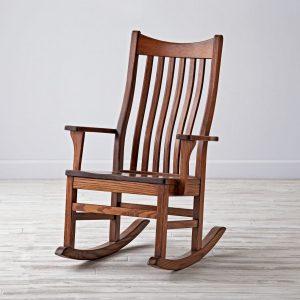 oak rocking chair rocker classic wooden sq