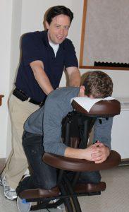 oak works massage chair chair massage college student
