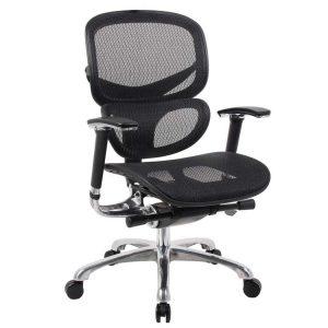office chair ergonomic boss black ergonomic mesh office chair