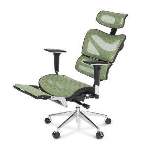 office chair with lumbar support ikayaa mesh ergonomic office chair swivel tilt executive computer desk chair w footrest headrest lumbar support jpg x