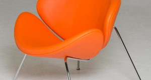orange accent chair anais orange dsc