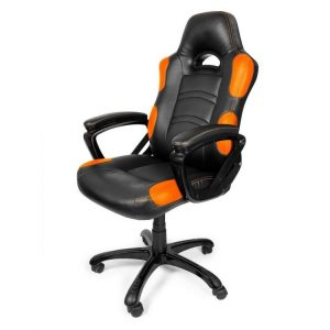 orange gaming chair arozzi enzo pelituoli oranssi orig