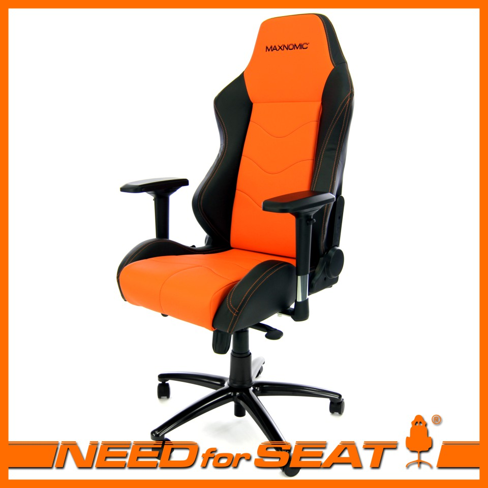 orange gaming chair