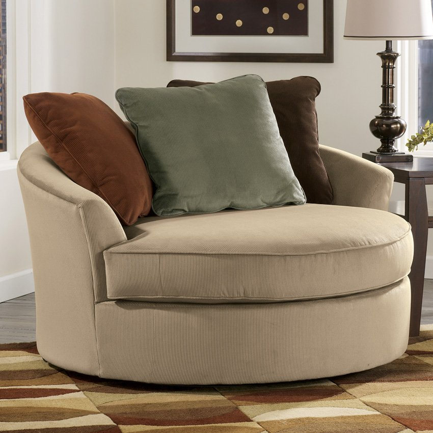 oversized round chair