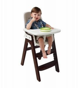 oxo tot high chair oxo tot sprout chair in taupe walnut