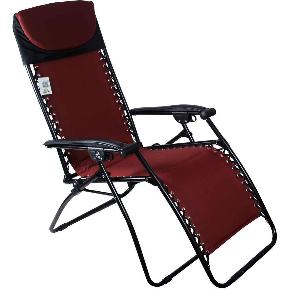 padded zero gravity chair