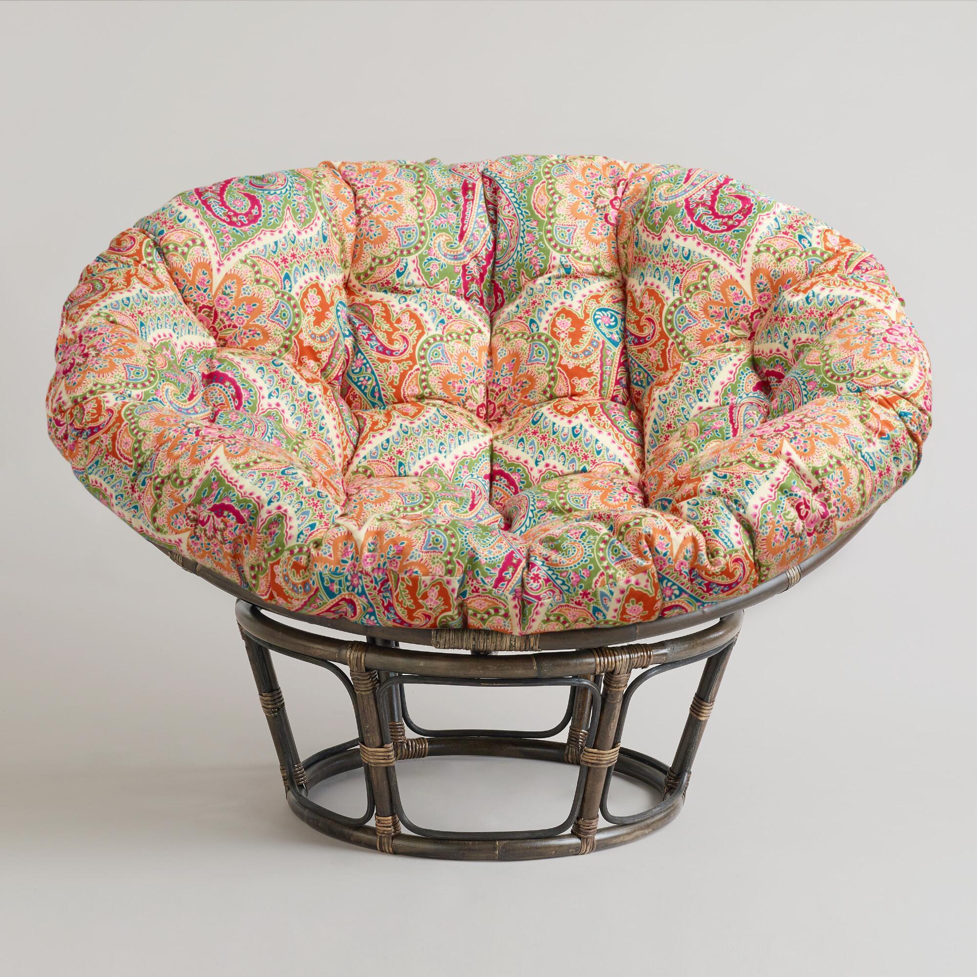 Papasan Chair Frame And Cushion