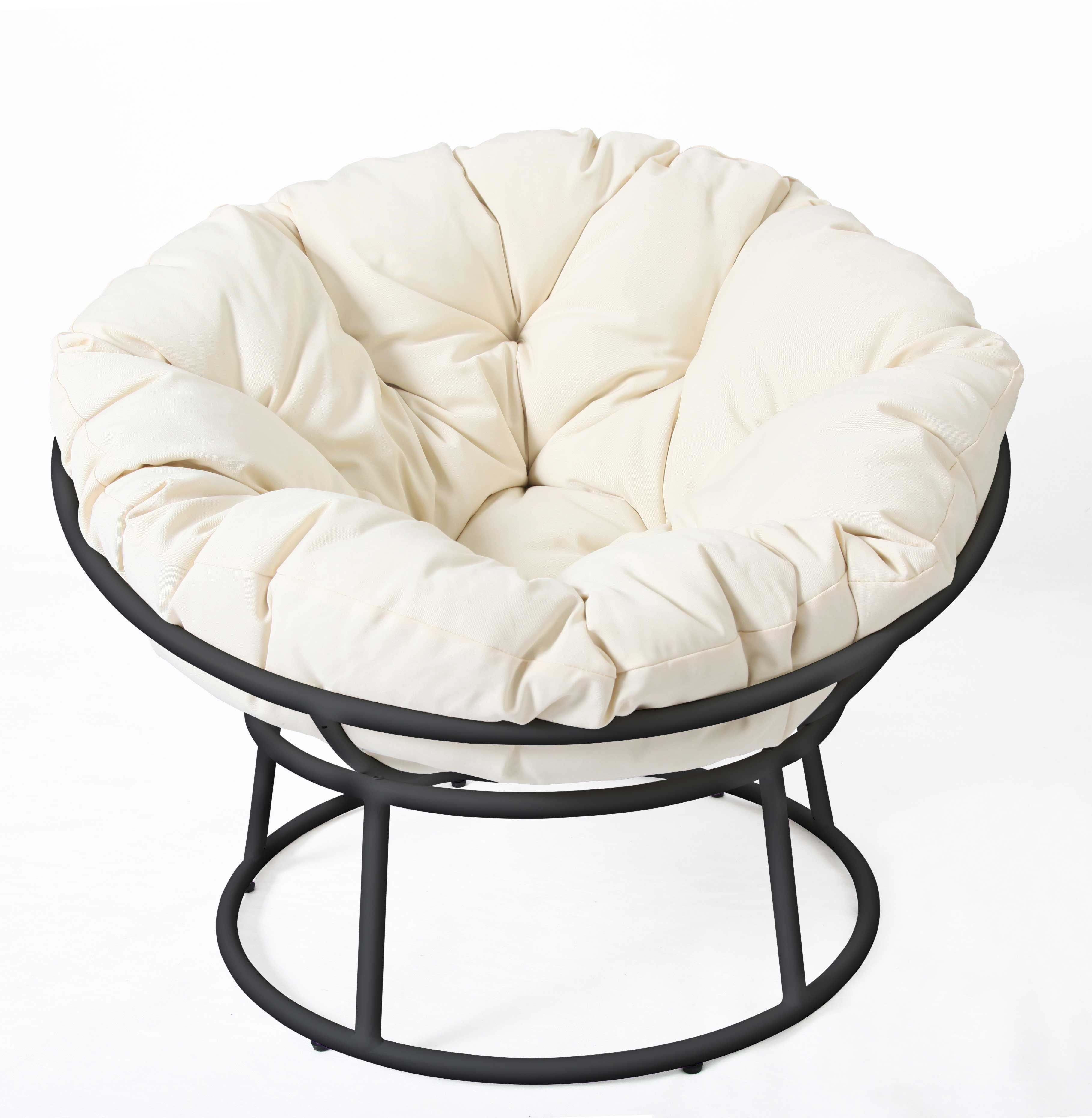 Papasan Chair Frame And Cushion | bangkokfoodietour.com