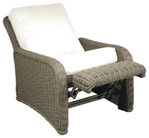 patio chair pads fabulous reclining patio chairs with cushions best images about recliners on pinterest white wicker island