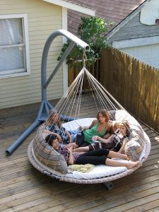patio swing chair diy hammock swing chair stand design