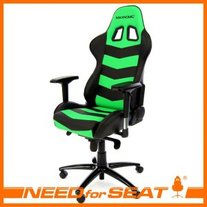 pc gaming chair thunderbolt green
