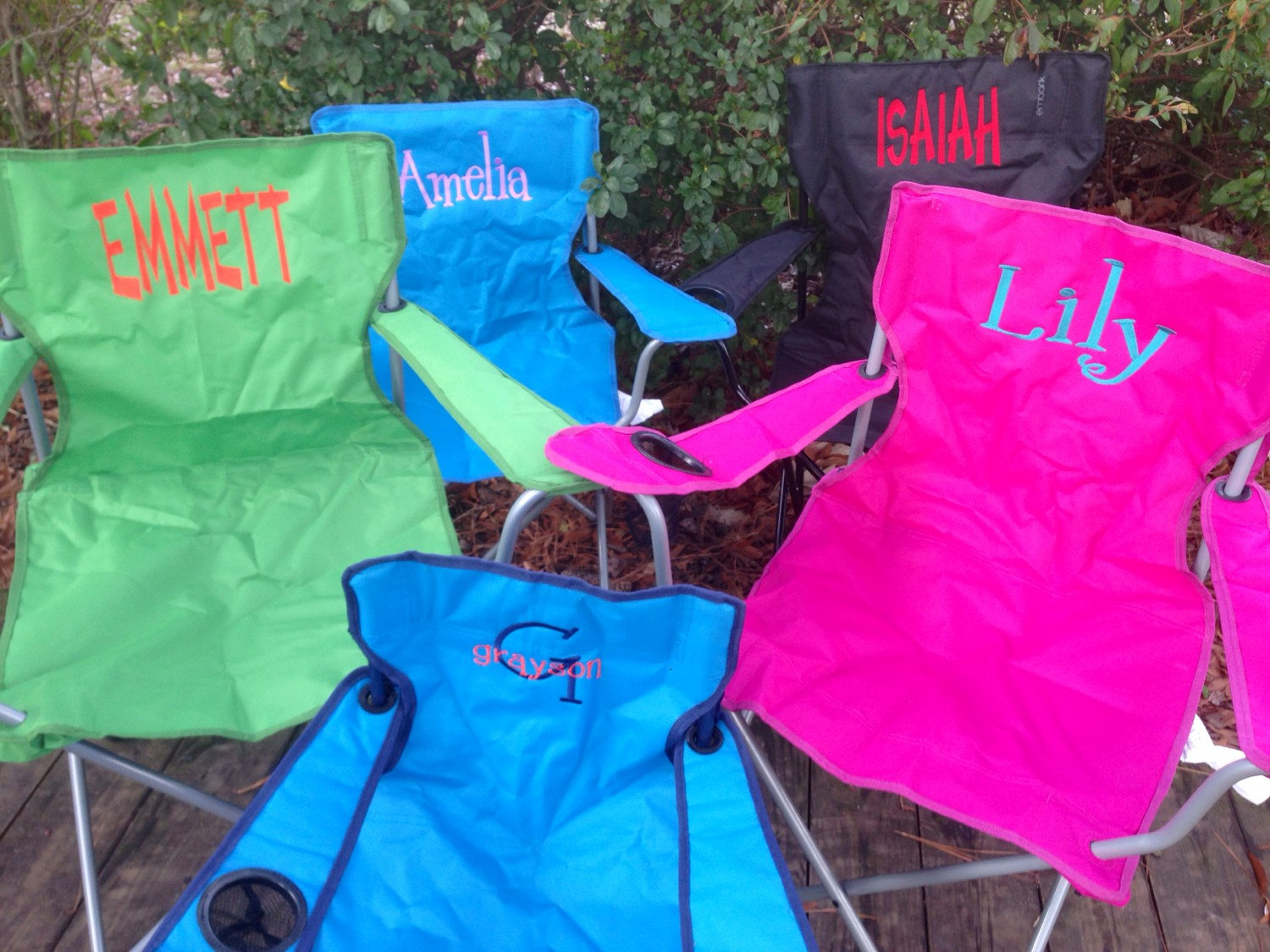 personalized camp chair