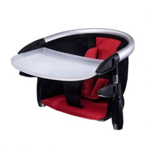 phil and teds high chair phil teds lobster portable high chair with tray in red product large