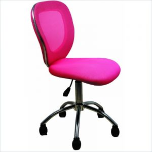 pink office chair l