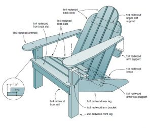 plans for adirondak chair adirondack chair plans free