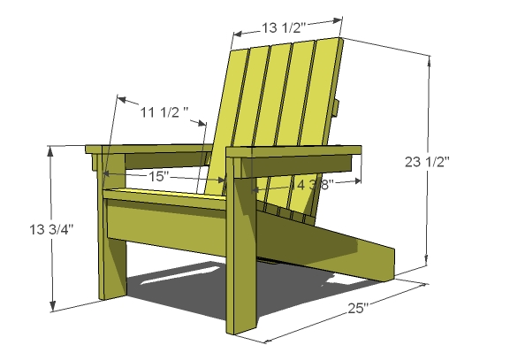plans for adirondak chair